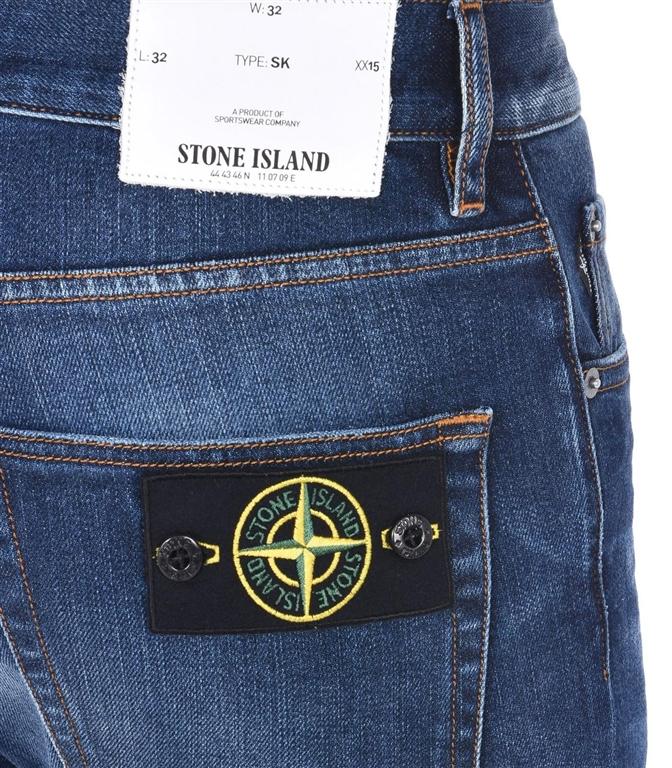 Stone Island - Jeans - denim cinque tasche real 1