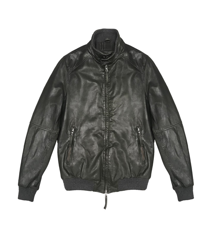 The Jack Leathers - Saldi - jason leather jacket verde