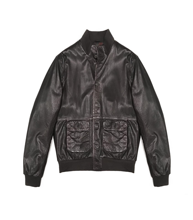 The Jack Leathers - Giubbotti - malcom leather jacket t. moro