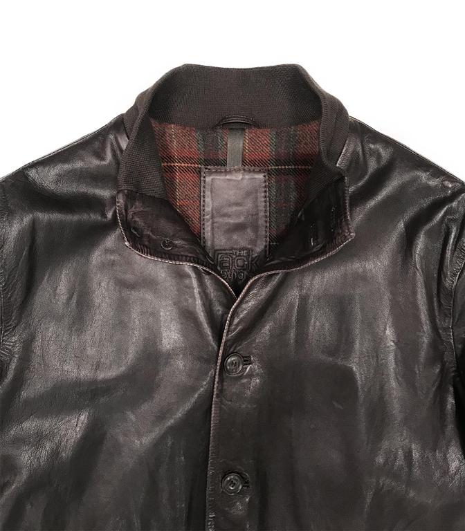 The Jack Leathers - Saldi - malcom leather jacket t. moro 1