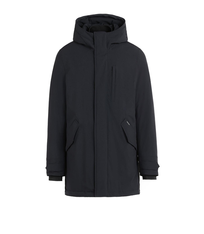 Woolrich - Giubbotti - stretch military parka black