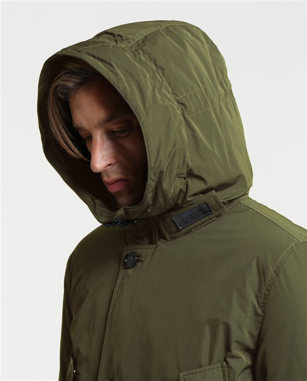 Woolrich - Giubbotti - city parka dark green 1