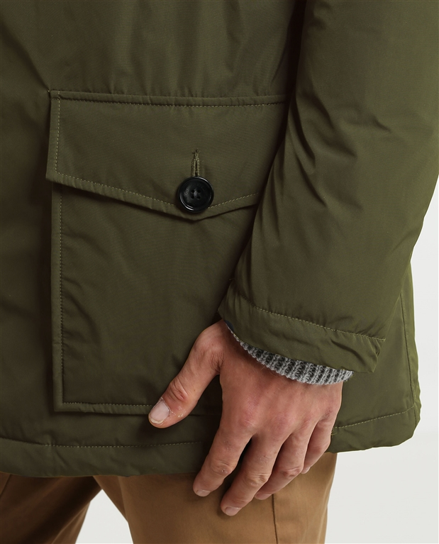 Woolrich - Giubbotti - city parka dark green 2
