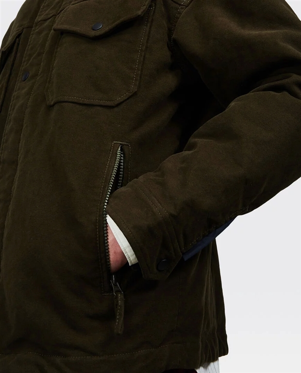 Aspesi - Giubbotti - giacca imbottita thermore verde 1