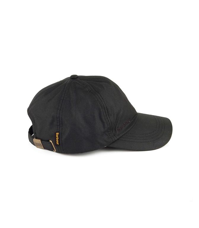 Barbour - Cappelli - wax sports cap black 1