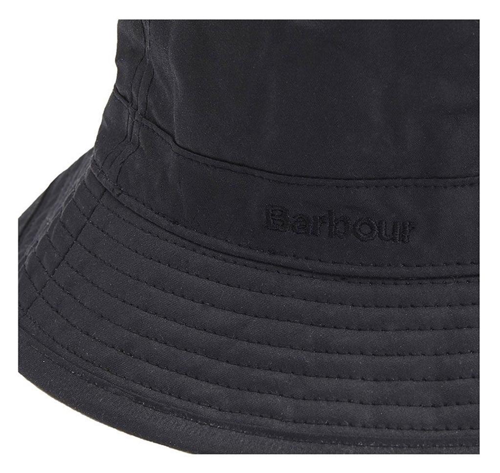 Barbour - Cappelli - wax sports hat black 1