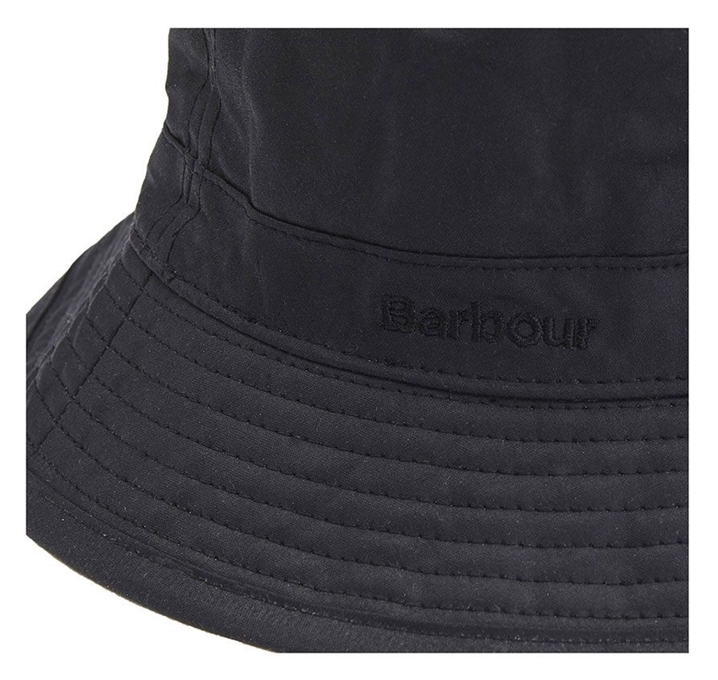 Barbour - Cappelli - wax sports hat black 1
