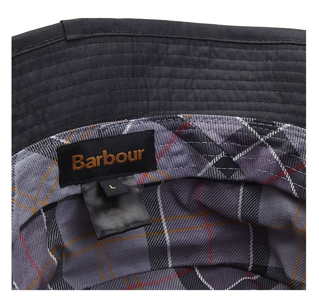 Barbour - Cappelli - wax sports hat black 2