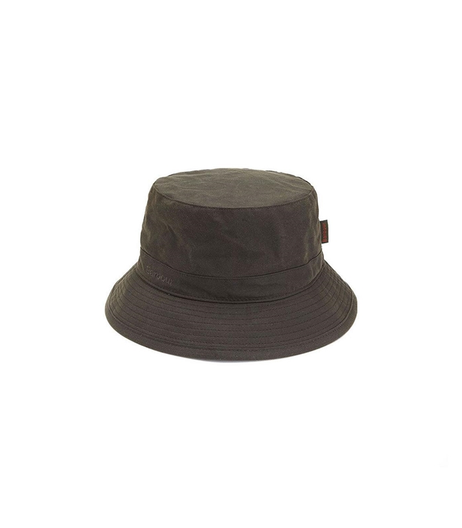Barbour - Cappelli - wax sports hat olive green