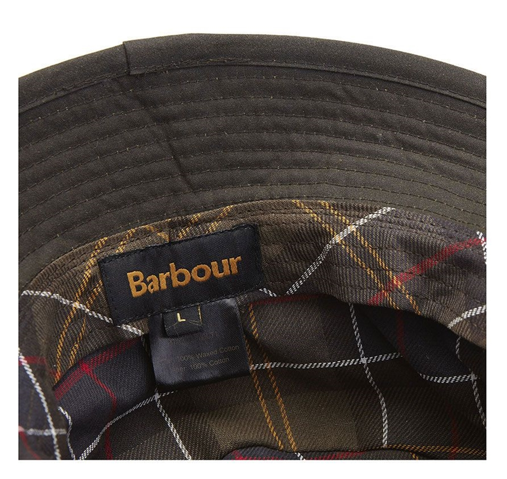 Barbour - Cappelli - wax sports hat olive green 1