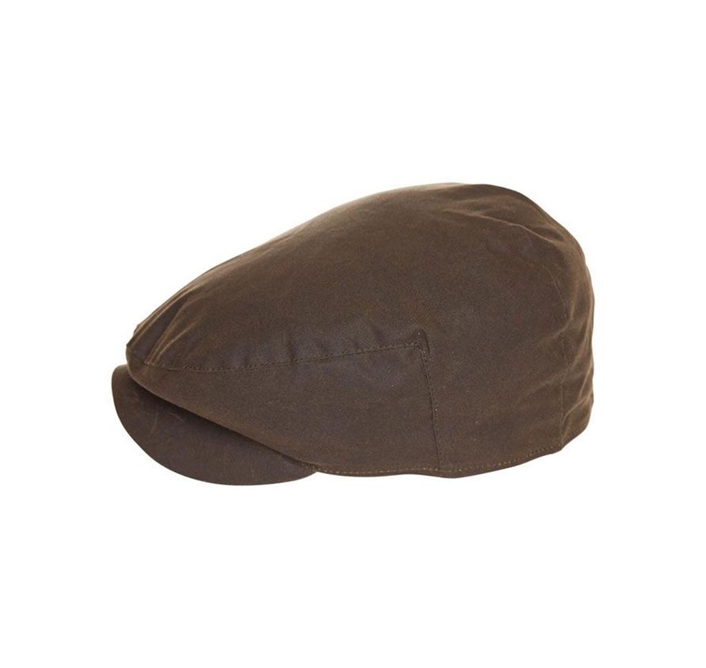 Barbour - Cappelli - cheviot wax tartan cap olive green 1
