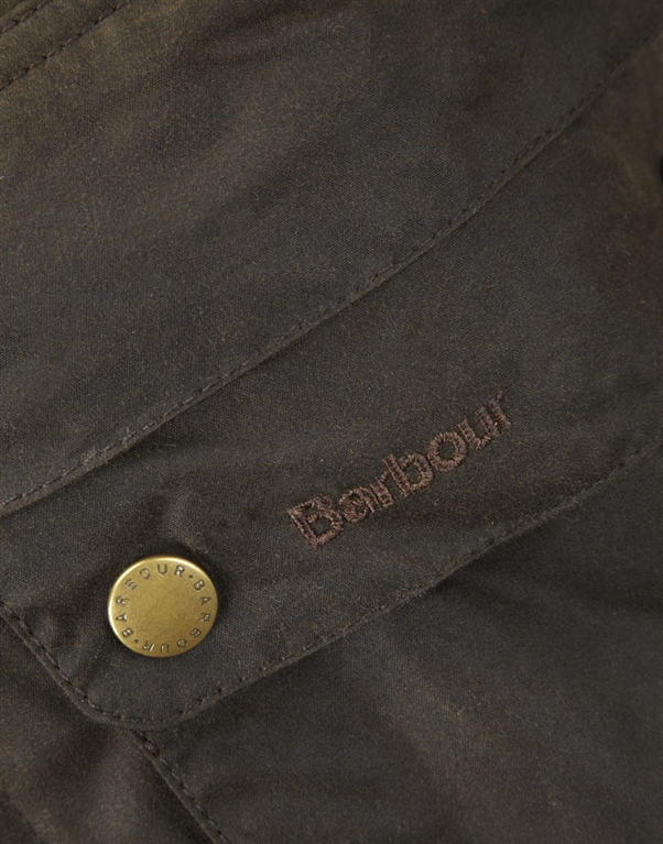 Barbour - Giubbotti - game parka olive green 1