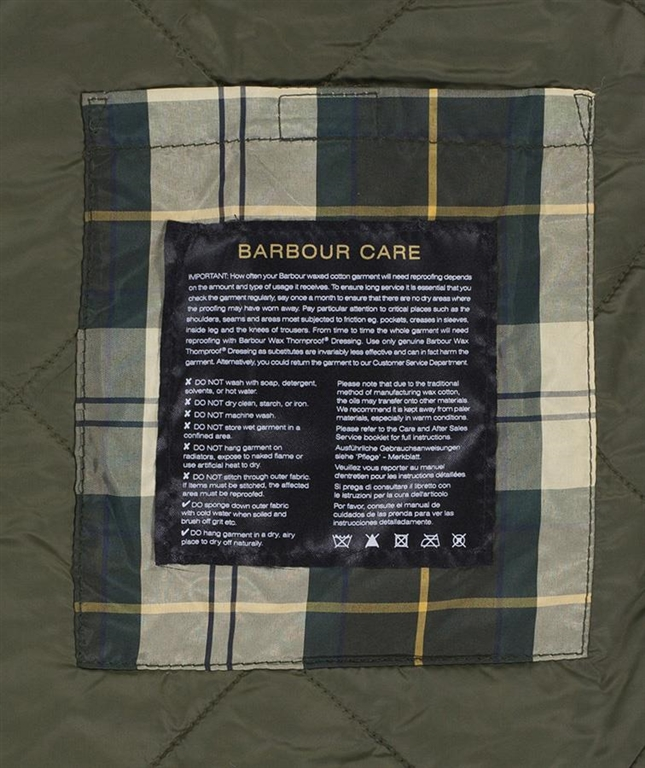 Barbour - Giubbotti - wax reelin jacket sage green 3