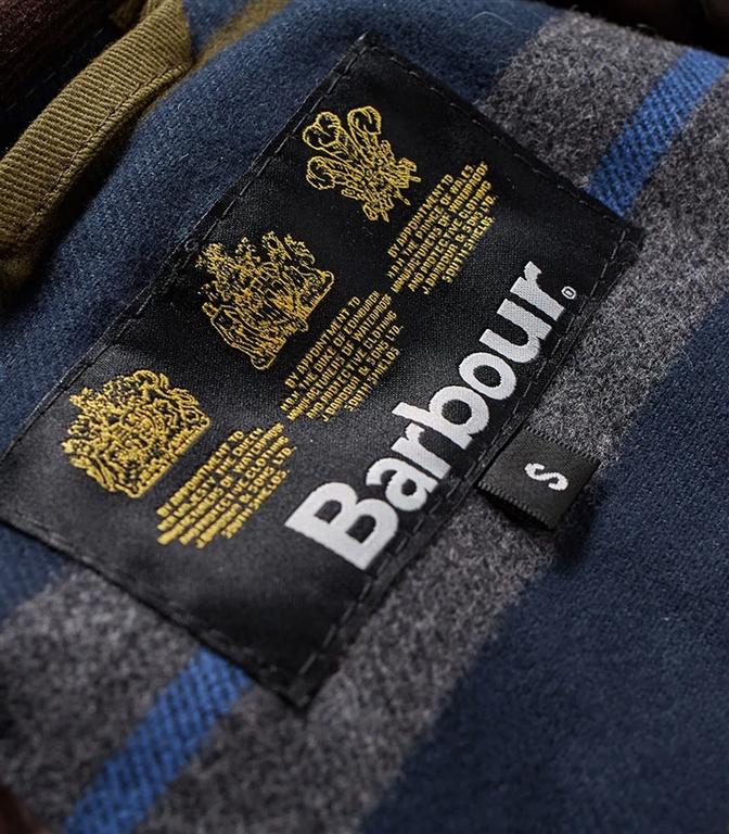 Barbour - Giubbotti - leeward wax jacket olive green 1