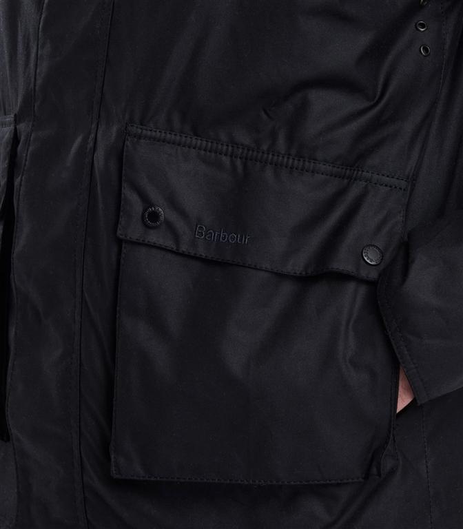 Barbour - Giubbotti - fohn wax cotton jacket black 1