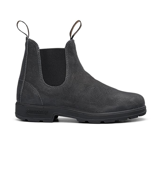 Blundstone - Scarpe - Sneakers - 1910 el side boot waxed suede steel grey