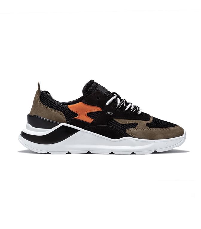 D.A.T.E. - Scarpe - Sneakers - fuga planes black