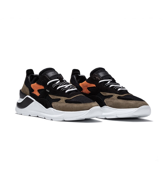 D.A.T.E. - Scarpe - Sneakers - fuga planes black 1