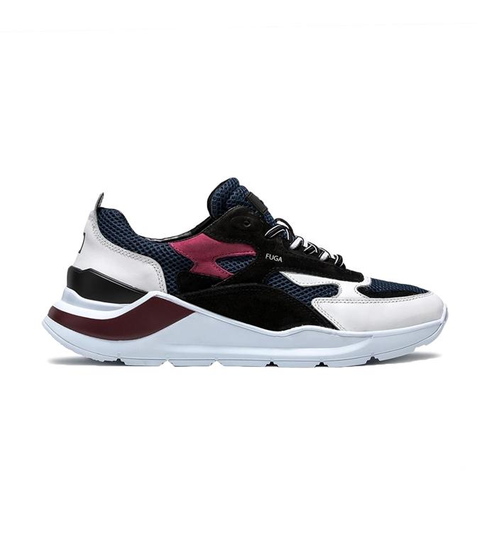 D.A.T.E. - Scarpe - Sneakers - FUGA PLANES BIANCO VIOLA