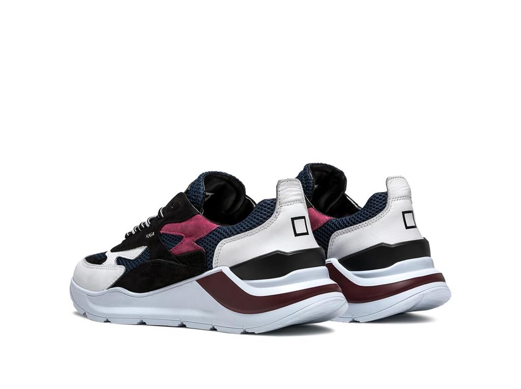 D.A.T.E. - Scarpe - Sneakers - fuga planes bianco viola 1