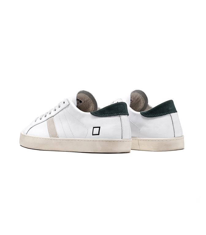 D.A.T.E. - Scarpe - Sneakers - hill low calf white green 2