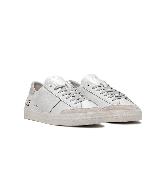 D.A.T.E. - Scarpe - Sneakers - vamp embossed white 1