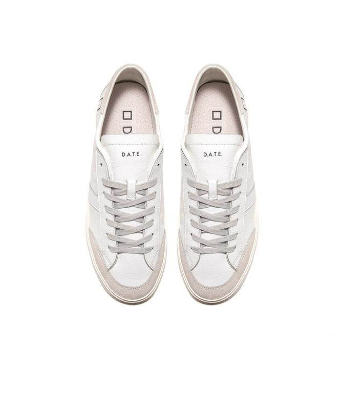 D.A.T.E. - Scarpe - Sneakers - vamp embossed white 2