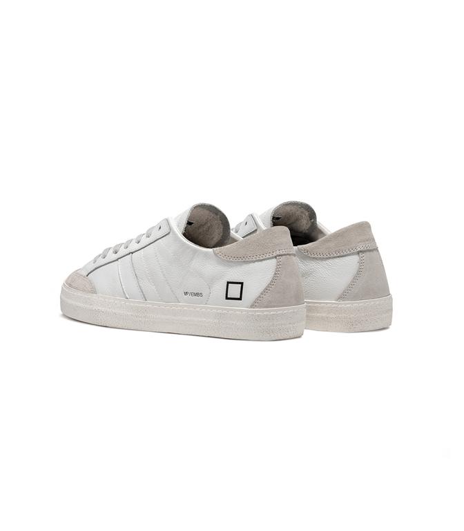 D.A.T.E. - Scarpe - Sneakers - vamp embossed white 3
