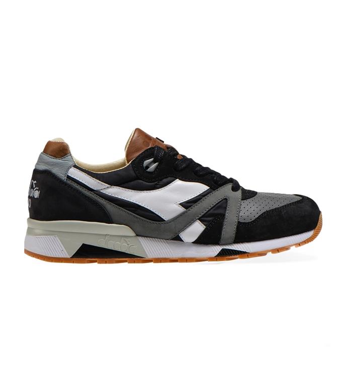 Diadora Heritage - Scarpe - Sneakers - N9000 H ITA NERA/GRGIO BUFERA