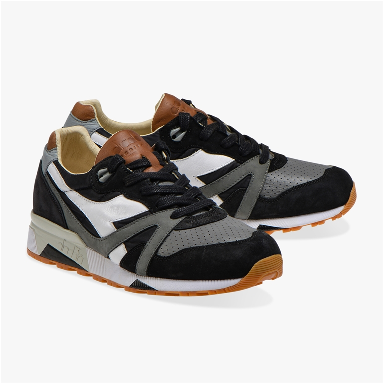 Diadora Heritage - Scarpe - Sneakers - n9000 h ita nera/grgio bufera 1