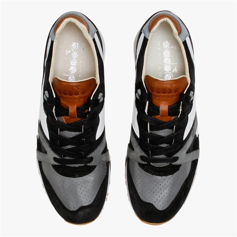 Diadora Heritage - Scarpe - Sneakers - n9000 h ita nera/grgio bufera 2
