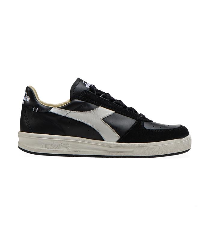 Diadora Heritage - Scarpe - Sneakers - b.elite h leather dirty nera
