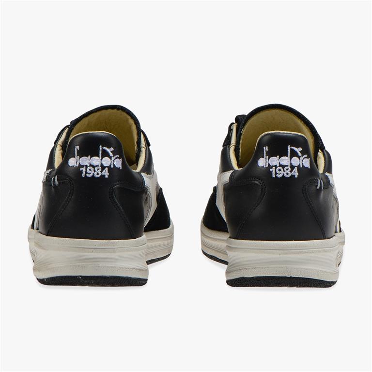 Diadora Heritage - Scarpe - Sneakers - b.elite h leather dirty nera 2