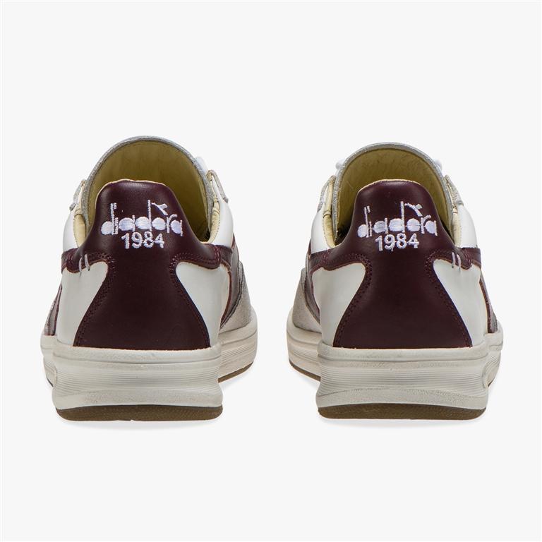 Diadora Heritage - Scarpe - Sneakers - b.elite h leather dirty bianca/viola avvento 2