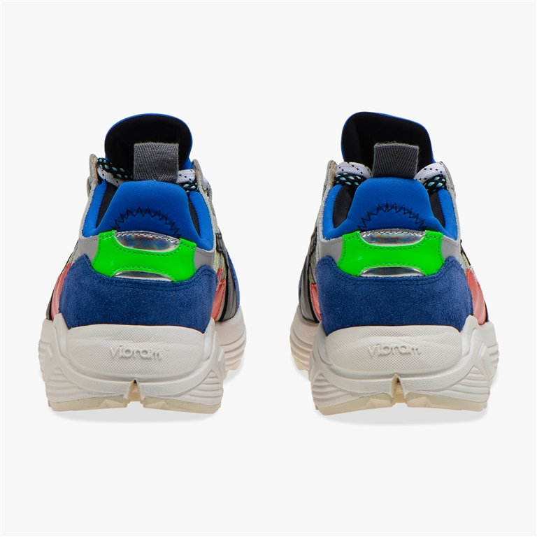 Diadora Heritage - Scarpe - Sneakers - rave leather pop blu notte 3