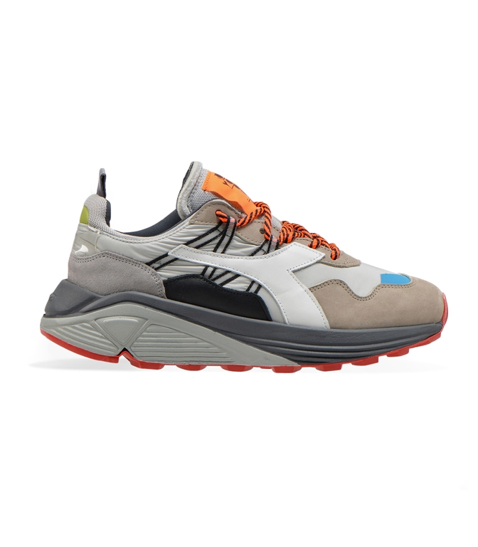 Diadora Heritage - Scarpe - Sneakers - rave nylon grigio roccia