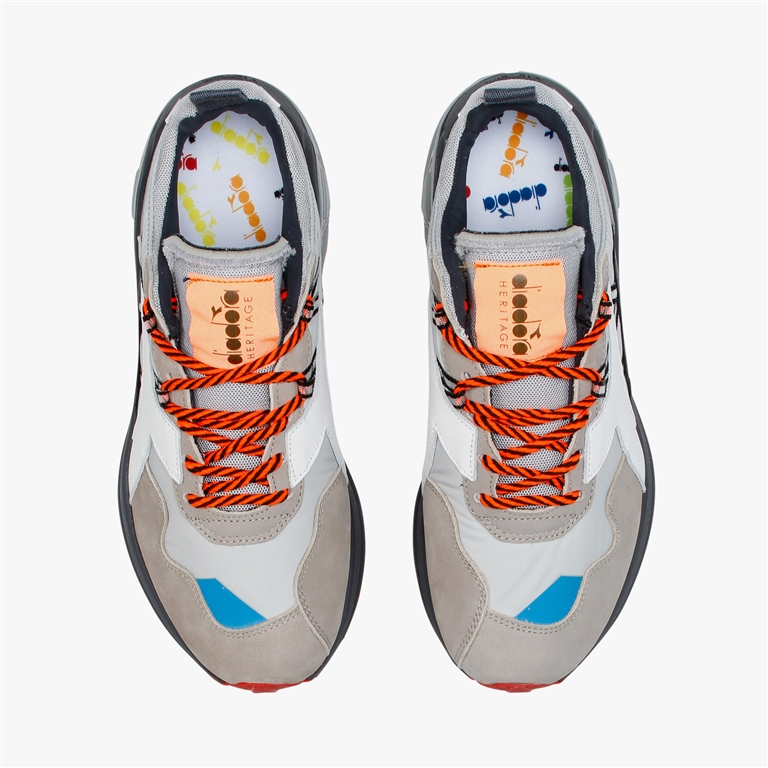 Diadora Heritage - Scarpe - Sneakers - rave nylon grigio roccia 1