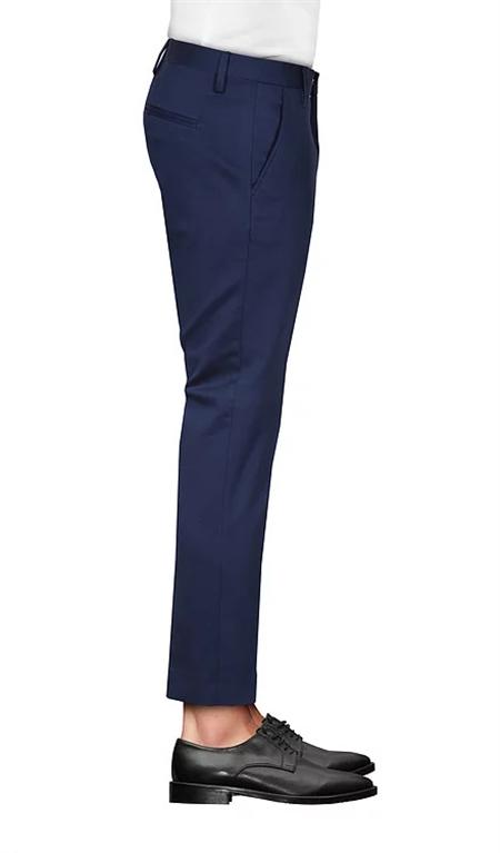 Entre Amis - Pantaloni - pantalone entre amis blu 1