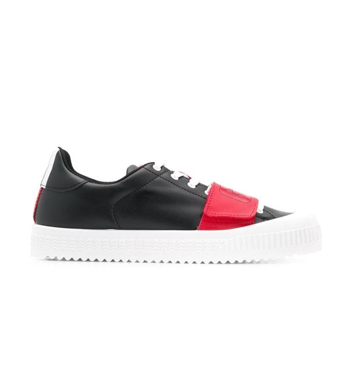 GCDS - Scarpe - Sneakers - logo sneakers black/red