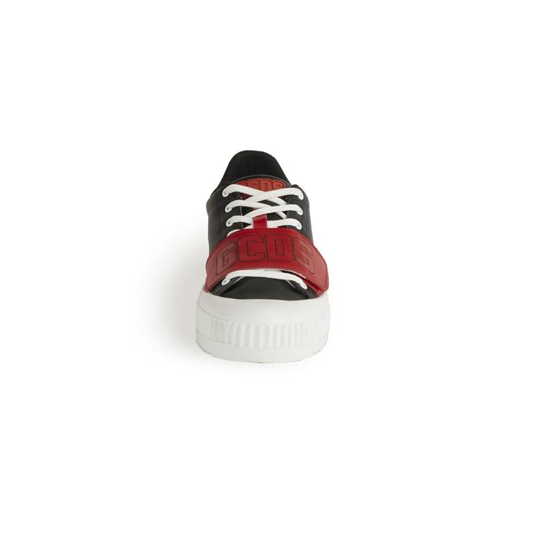 GCDS - Scarpe - Sneakers - logo sneakers black/red 1