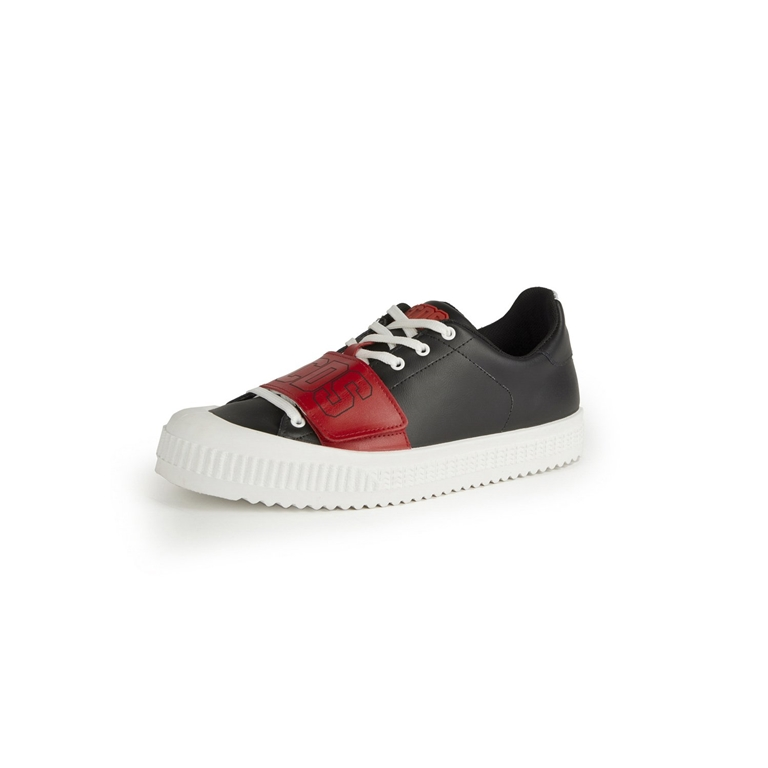 GCDS - Scarpe - Sneakers - logo sneakers black/red 2