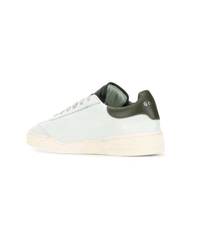 Ghoud Venice - Scarpe - Sneakers - sneaker in pelle liscia white/military/black 1