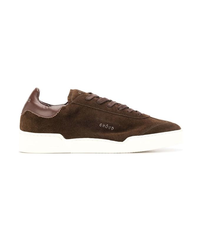 Ghoud Venice - Scarpe - Sneakers - SNEAKER IN SUEDE EBONY/EBONY