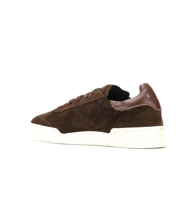 Ghoud Venice - Scarpe - Sneakers - sneaker in suede ebony/ebony 1