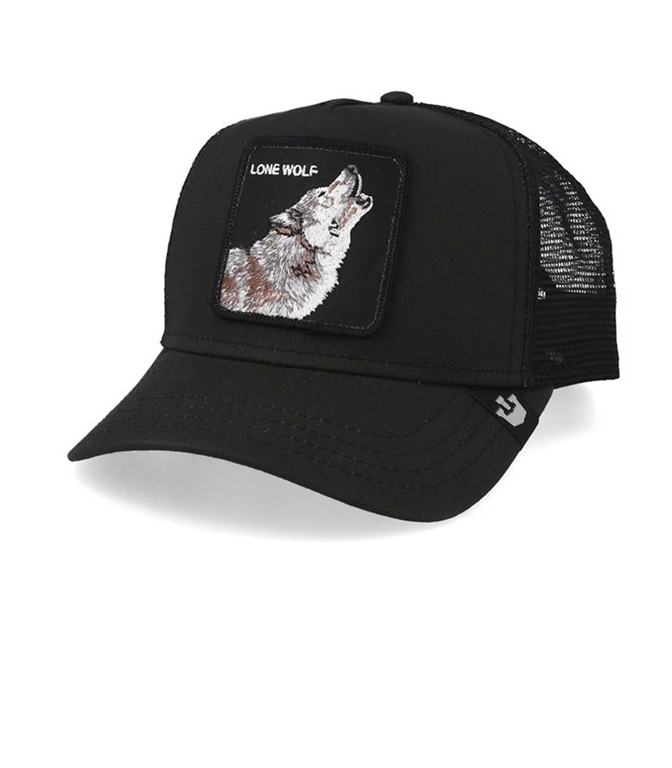 Goorin Bros - Cappelli - cappellino trucker lone wolf black