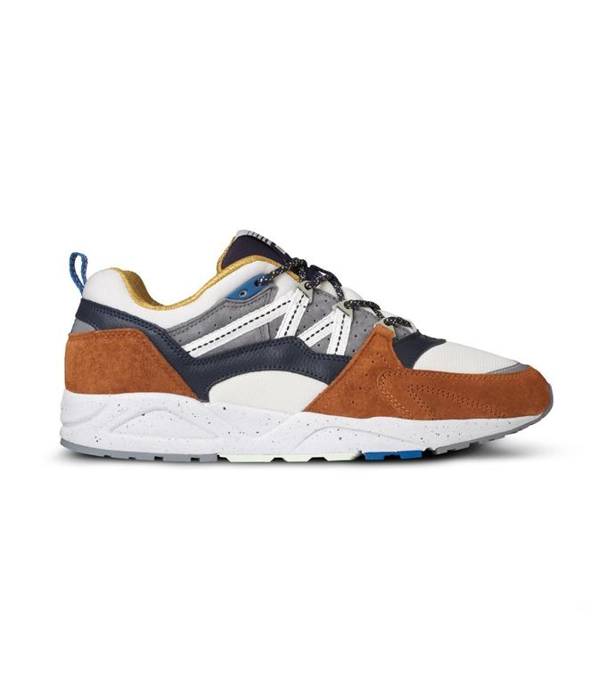 "Karhu - Scarpe - Sneakers - sneaker fusion 2.0 ""cross country ski"" pack leather brown/night sky"