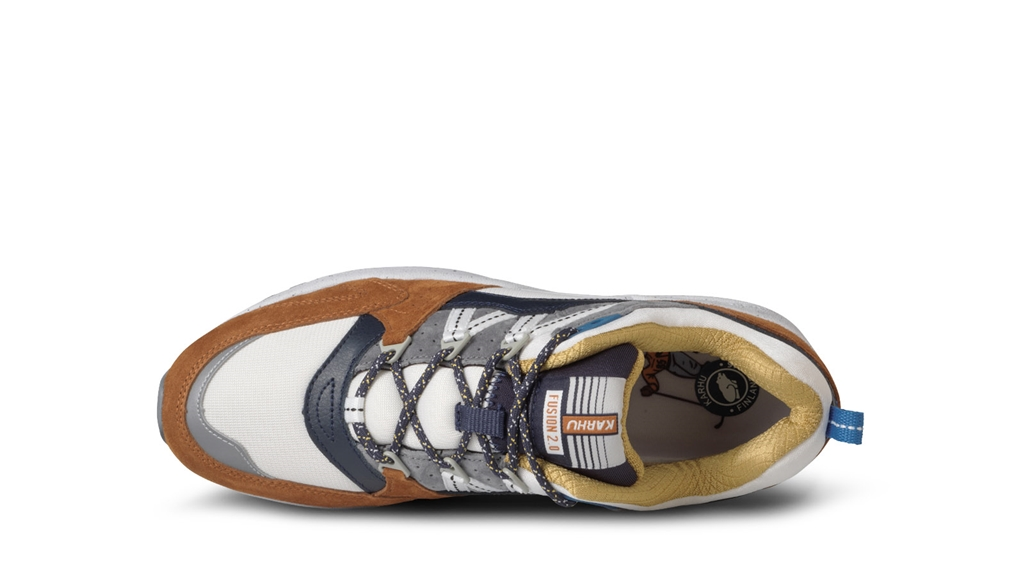 "Karhu - Scarpe - Sneakers - sneaker fusion 2.0""cross country ski"" pack leather brown/night sky 3"