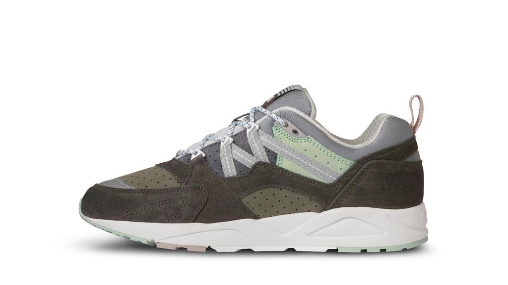 Karhu - Scarpe - Sneakers - sneaker fusion 2.0 forest green/acqua gray 3