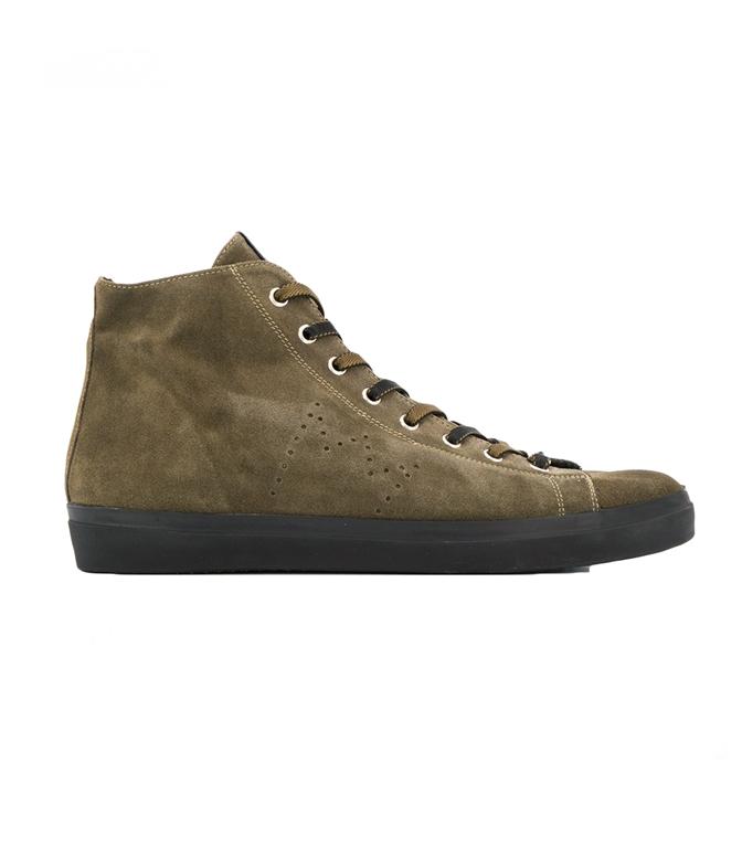 Leather Crown - Scarpe - Sneakers - polacchino m117 kaki