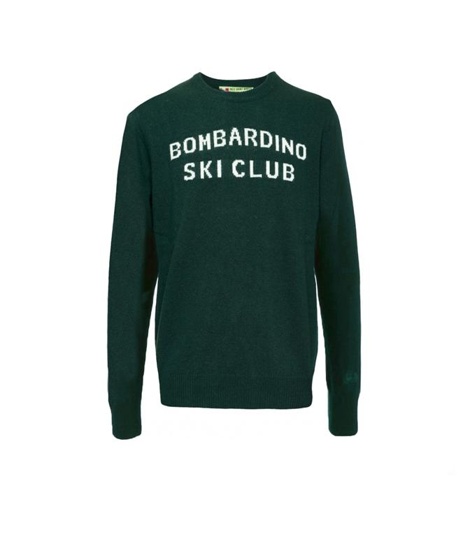 Mc2 Saint Barth - Maglie - maglione verde bombardino ski club